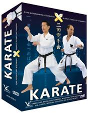3 DVD Box Shotokan Karate Funakoshi Kata & Bunkai 4. und 5. Dan Keio Dojo Japan