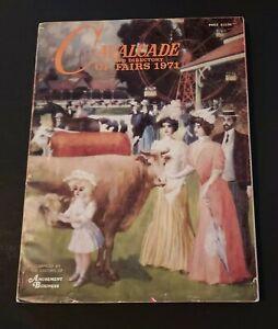 Cavalcade & Directory of Fairs 1971 Advertising Amusement Business Entertainment
