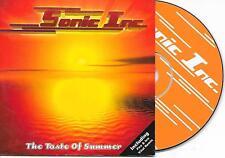 SONIC INC. - The taste of summer CD SINGLE 2TR Trance 2001 Belgium Cardsleeve