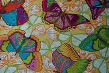 1Y Westminster Cocoon Butterfly Valori Wells  Free Spirit Quilt Dress Fabric
