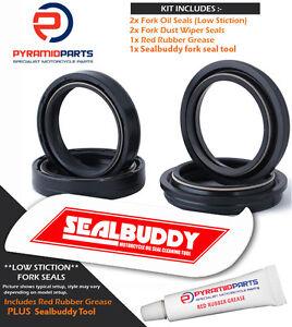 Fork Seals Dust seals & Tool for Kawasaki EN454 LTD 85-90
