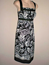 ANN TAYLOR LOFT Black & White Print Dress New Tags  Size 4