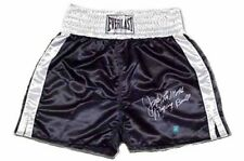 【RARE】Jake LaMotta Raging Bull Signed Black Everlast Boxing Trunks!SSG COA/Photo