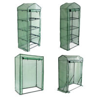 Weatherproof 4-Tier Greenhouse, Slanted and Gable Tomato Greenhouse for plants