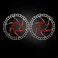 2 unidades discos de freno 180mm Ultralight ai rotor (Tune it) rojo 112g Ashima aro 08