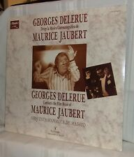 Georges Delerue CONDUCTS THE FILM MUSIC of MAURICE JAUBERT Spain Import 1986 LP