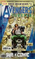 TRUE BELIEVERS AVENGERS FOREVER #1 (MARVEL 2019 1st Print) COMIC