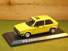 Volkswagen Golf in Yellow 1/43rd Scale