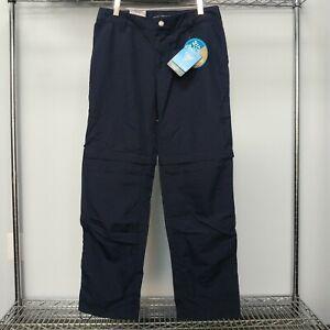 NEW! Columbia Palm Peak II Convertible Hiking Pants - Women's Sizes 6-10, Blue