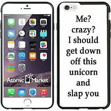 Funny Me Crazy Phrase For Iphone 6 Plus 5.5 Inch Case Cover