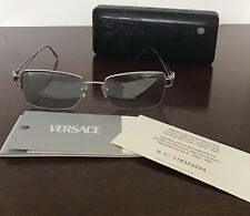 Versace Mirror Tint Metal Spectacle Glasses Frames Y02A6M 52 Eye 18mm Bridge
