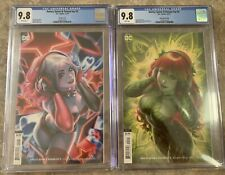 Harley Quinn And Poison Ivy #2 Combo Set CGC 9.8 NM Louw Cover DC Hot Sold Out