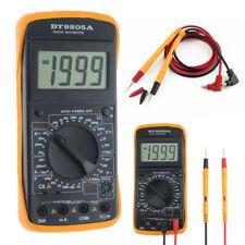 Digital LCD Multimeter AC/DC Voltage Current Resistance Capacitance Tester Meter