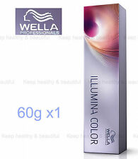 Wella Professionals Illumina Color Cream 60ml x 1  FREE POST