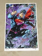 2013 SUPERMAN UNCHAINED ART PRINT BY JIM LEE SCOTT WILLIAMS ALEX SINCLAIR 11x17