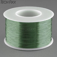 TEMCo Magnet Wire 26 AWG Gauge Enameled Copper 155C 8oz 629ft Crafts Coil Green