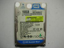 "WD Scorpio Blue 160gb WD1600BEVT-00ZCT0 2061-701499-500 AH 2,5"" SATA"