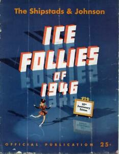 SHIPSTADS & JOHNSON ICE FOLLIES OF 1946 OFFICIAL PROGRAMME - SCARCE  REF: 2594F