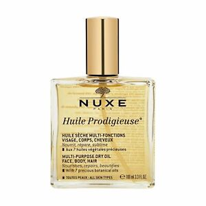 NUXE Huile Prodigieuse Multi-Usage Dry Oil Face Body Hair 100ml Natural