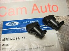 Ford Fusion Lincoln MKZ Mercury Milan Windshield Washer Squirter Jet Nozzles 2