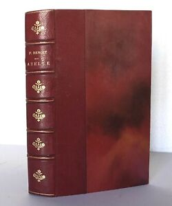 BENOIT Pierre. Axelle. 1928. Edition originale numérotée sur Alfa. Bien relié.