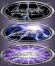 Lightning SVT f-150 pickup truck vinyl decals stickers SVT F150 Fits : Ford all
