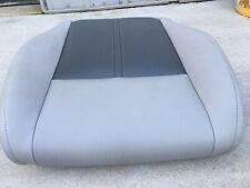 2005-2010 Jeep Grand Cherokee Bottom Seat Cushion White/DK Grey Leather Left OEM