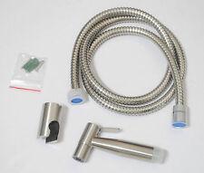 Stainless Steel Brushed Nickel Toilet Sprayer Shower Bidet Shattaf Douche Kit