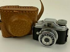 EMSON Hit Type Vintage Subminiature Camera w/ Leather case - Nice