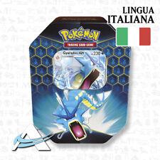 Tin GYARADOS GX • DESTINO SFUGGENTE • 4 Buste in Italiano POKEMON TCG ANDYCARDS
