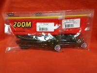 """ZOOM Ol' Monster 10.5"""" Worm (9cnt) #026-120 Watermelon Candy(2 PCKS)"""