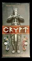 CRYPT Kickstarter- Card Game- Board Game - BRAND NEW/SEALED/ Free Shipping!RARE!