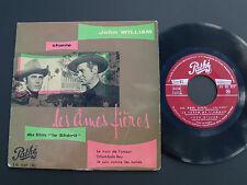 """JOHN WILLIAM: Les ames fières (""""THE PROUD ONES"""") EP 1957 French PATHE 45 EG 227"""