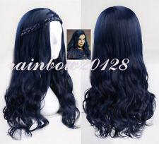 "24"" Dark Blue Women's Evie for Descendants 2 Wavy Curly Cosplay Wig"