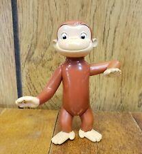 "Curious George Pvc 4"" Pose-able Figure"