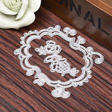Lace Metal Cutting Dies Stencil DIY Scrapbooking Card Paper Embossing Craft HOT