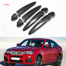 Dry Real Carbon Fiber Car Door Handle Cover For BMW E87 F20 F21 F22 F23 E90 F82