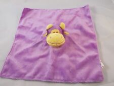 "Dakin Purple Cow Lovey Security Blanket 12"" Beverly Hills Teddy Bear CO"