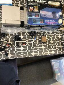 Nintendo Entertainment System NES Original Grey Home Console