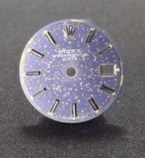 GENUINE VINTAGE LADIES ROLEX BLUE TRITIUM DATE DIAL 6916 6917