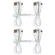 4 Micro USB 6FT Charger Cable Cord for Phone LG Optimus Zone 3 Stylo 2 Tribute 5