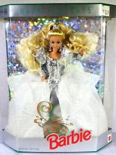 NIB BARBIE DOLL 1992 HAPPY HOLIDAYS CHRISTMAS
