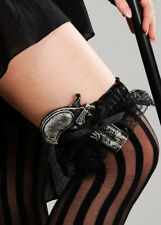 Womens Steam Punk Fancy Dress Lace Garter