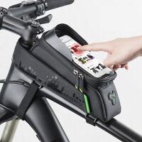 sac de vélo Tube avant vélo téléphone écran tactile étanche vtt sac accessoires