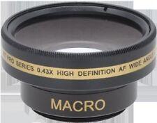 Wide Lens for Sony DCR-DVD203E DCR-SR40 DCRDVD405 DCR-DVD200 DCR-DVD203KIT1