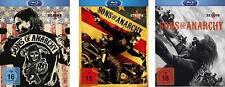Sons of Anarchy - 1,2 und 3 Staffel  - 9 Blu Ray 3 Boxen - Neu u. OVP - FSK 18