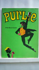 PURLIE Souvenir Program ROBERT GUILLAUME / PATTI JO / SHERMAN HEMSLEY Tour 1971