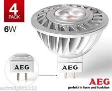 4 X GermanAEG LED Downlight MR16 6W 40W 12v GU5.3, 5Y Warranty! Halogen Replace