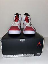 Size 8 - Jordan 6 Retro OG Carmine 2021 CORNER OF BOX IS DAMAGED