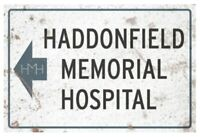 Halloween 2 - Haddonfield Memorial Hospital Sign-TTSSFUS111-TRICK OR TREAT ST...
